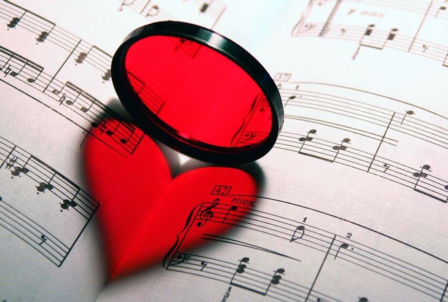 Музыка под романтик фото 487-400